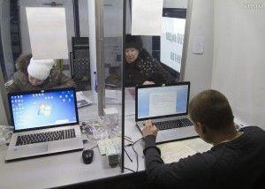 Кокошкино Паша Марочкин привез в мобильный офис МФЦ фото прадедушки и сам заполнил анкету