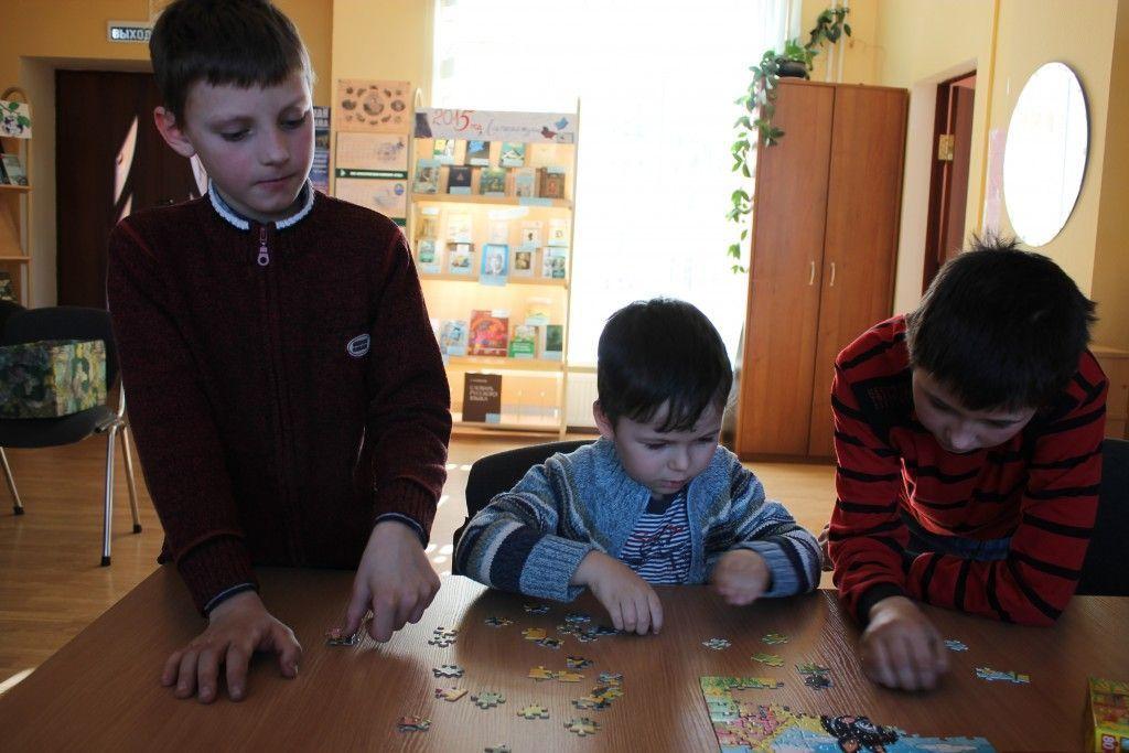 В поселении Первомайское прошел детский праздник настольных игр