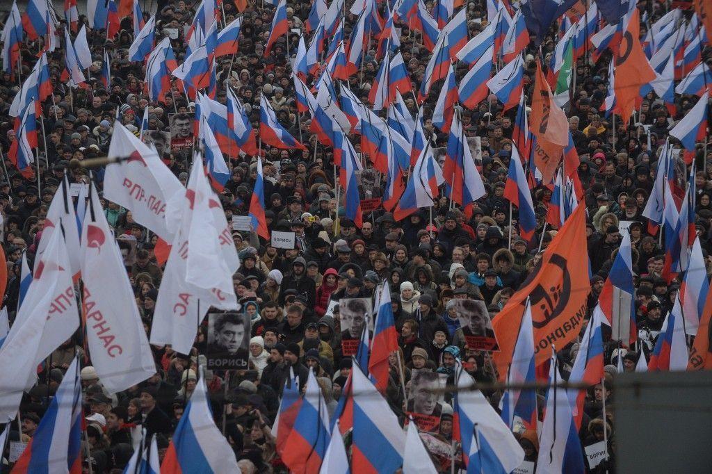 На шествие профсоюзов в Москве вышли более 140 тысяч человек