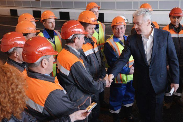 Собянин уверен, больше всех от реконструкции Дмитровского шоссе выиграют жители района Северный