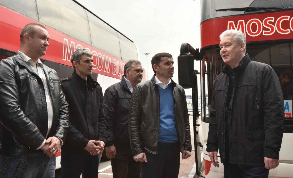 Мэр Москвы открыл автовокзал