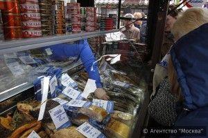 На фестивале «Русская рыба» представлено более 200 видов отечественных морепродуктов