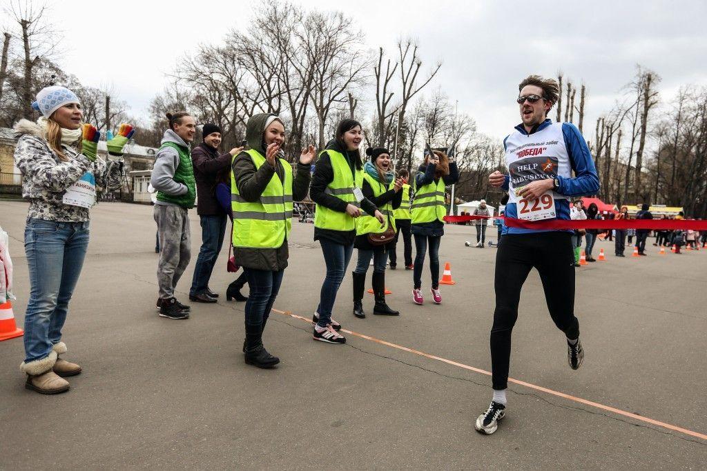 Щербинские бегуны из школы 2117 сделали «золотой» дубль