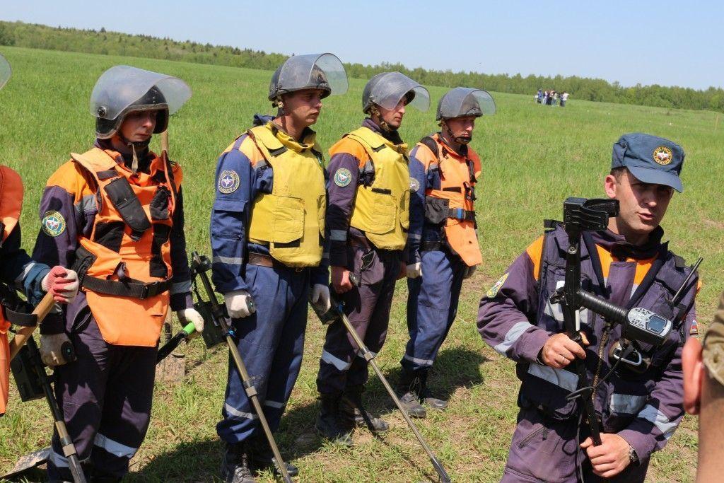 Саперы обнаружили в поселении Роговское 269 вызрывоопасных предметов