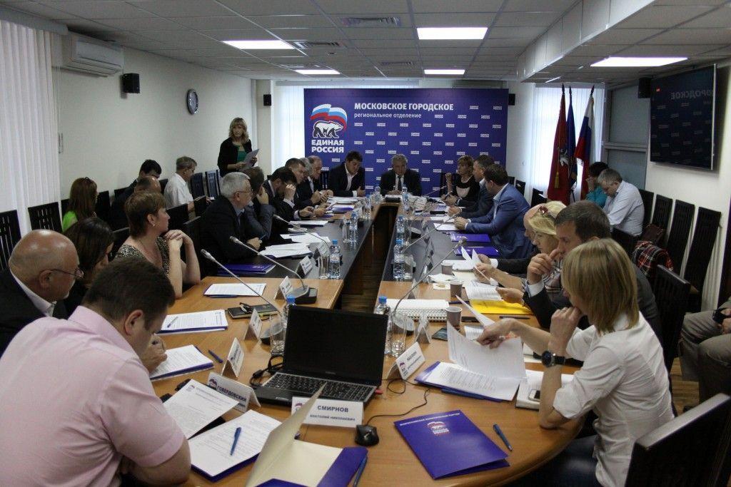 «Единая Россия» призвала Сергей Собянина защитить москвичей от недобросовестных предпринимателей