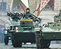 На парад Победы выйдет новая бронетехника