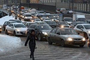 город дороги пробки машины