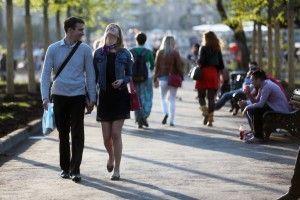 город общество парки люди