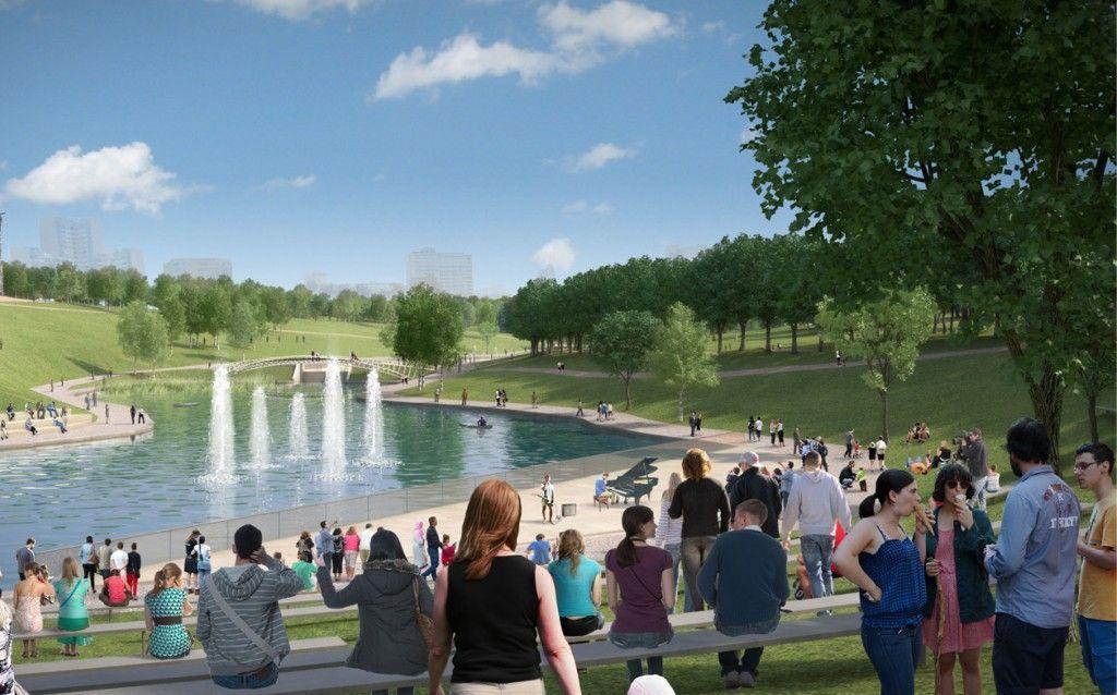 Благодаря «Активному гражданину» в парке Олимпийской деревни появятся детские площадки