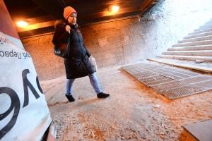 Ремонт подземного перехода под Новослободской улицей