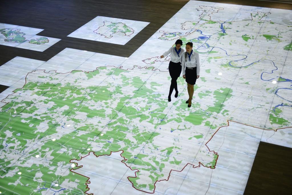 Новая Москва в картах и схемах представлена на выставке «Картография Москвы»