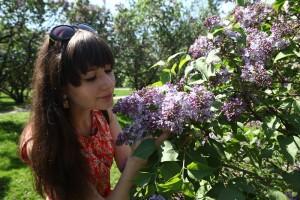 Сиреневый сад на Щелковском шоссе