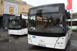 Презинтация нового автобуса из белоруссии