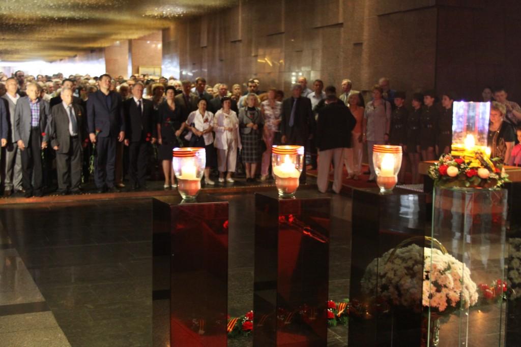 Московские единороссы зажгли  «Свечи Памяти» в рамках всероссийской акции