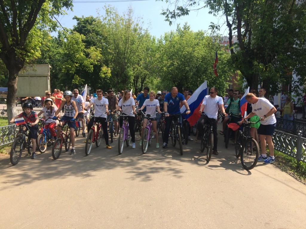На Щербинский велопробег выехали более 70 велосипедистов
