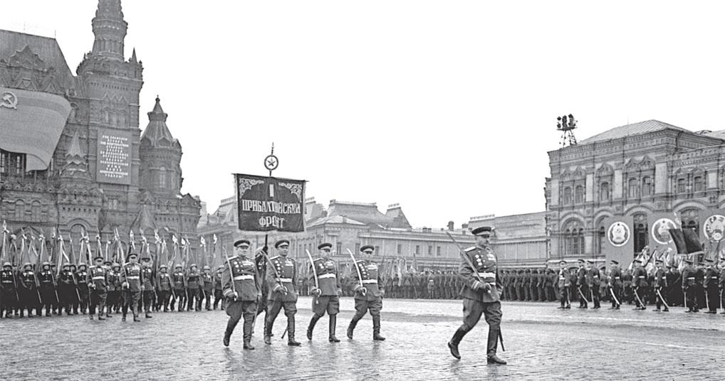 Три парада для ветерана