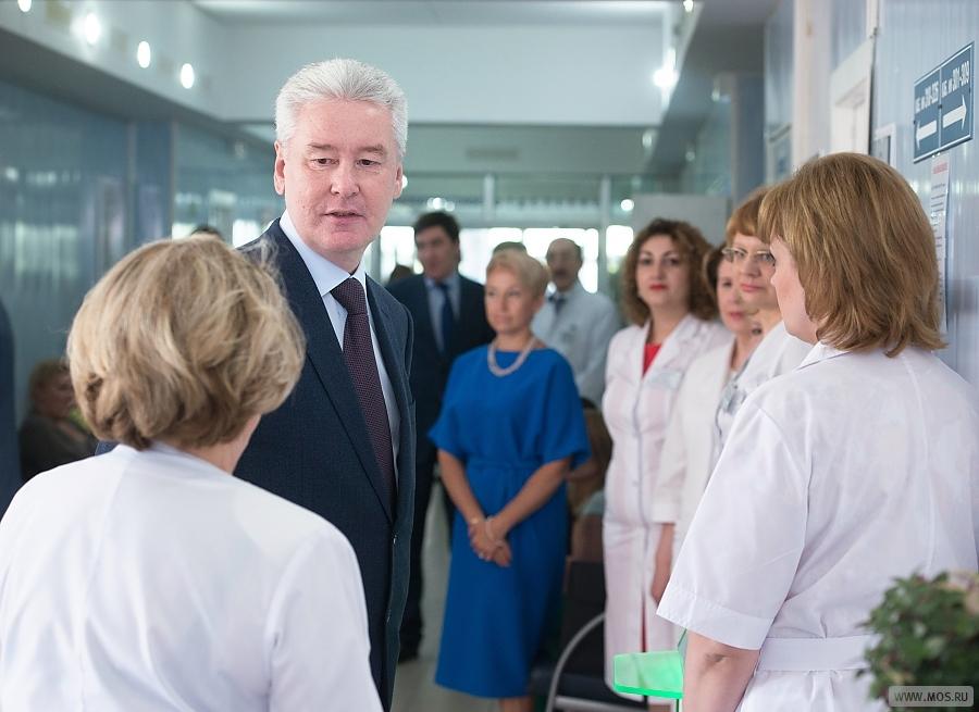 Собянин: В Москве созданы он-лайн сервисы по улучшению работы поликлиник