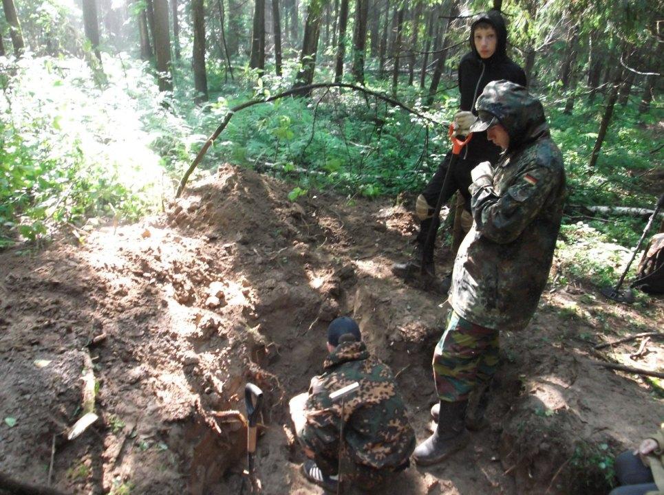 Житель поселения Рязановское принял участие в поиске и перезахоронении советских солдат
