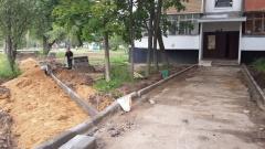 В Новофедоровском поселении благоустроили двор дома № 129
