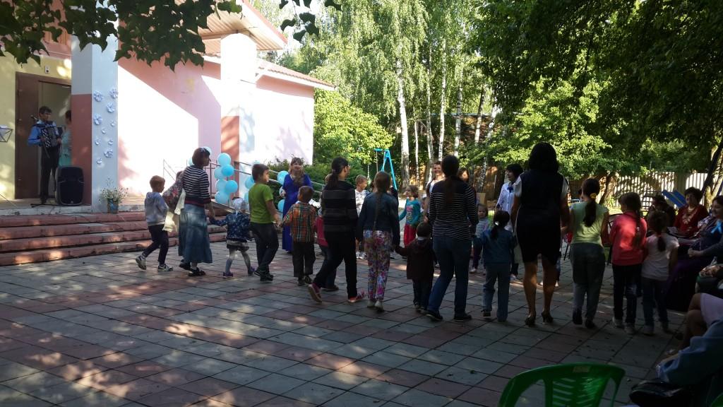 В поселении Внуковское День семьи отметили игровой программой