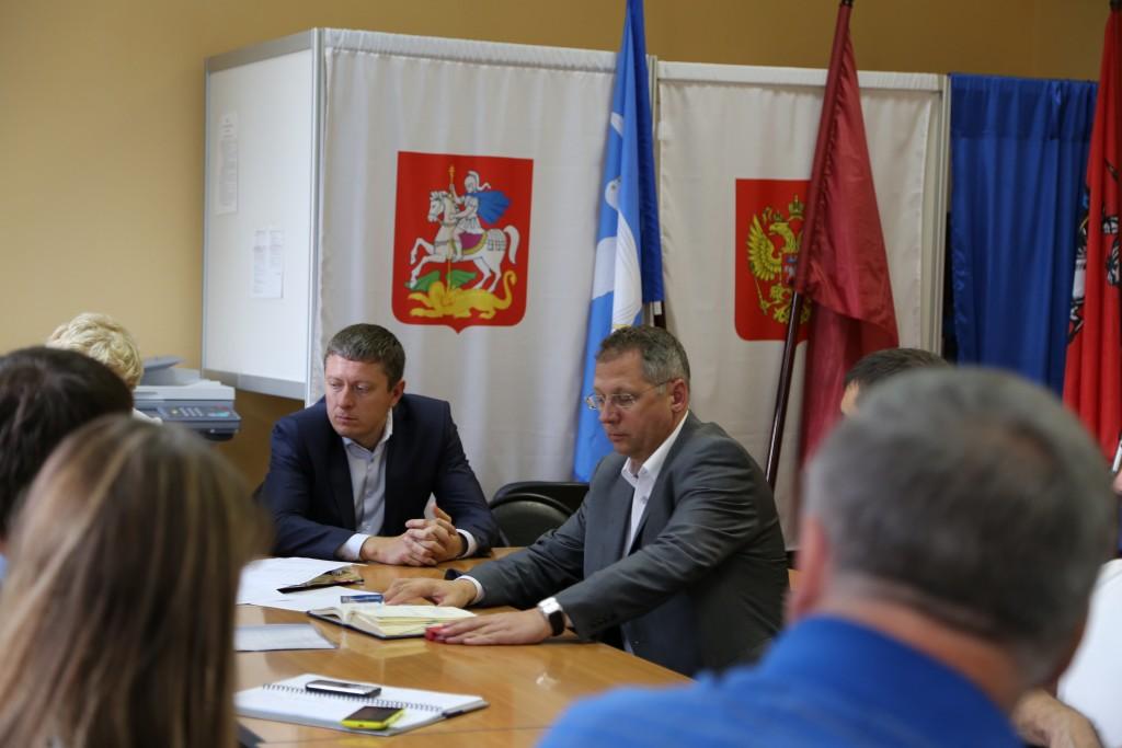 Энергетики Московской Объединенной Электросетевой Компании встретились с абонентами Новой Москвы