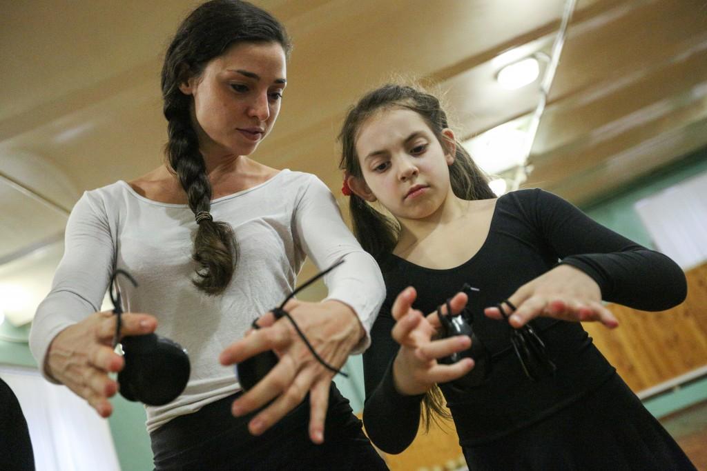 Для детей Троицка проведут мастер-класс по фламенко