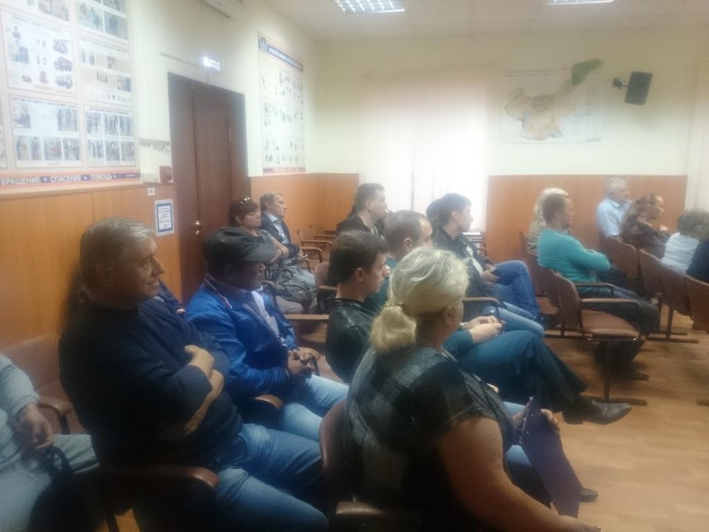 В Кокошкино обсудили меры ликвидации чрезвычайных ситуаций