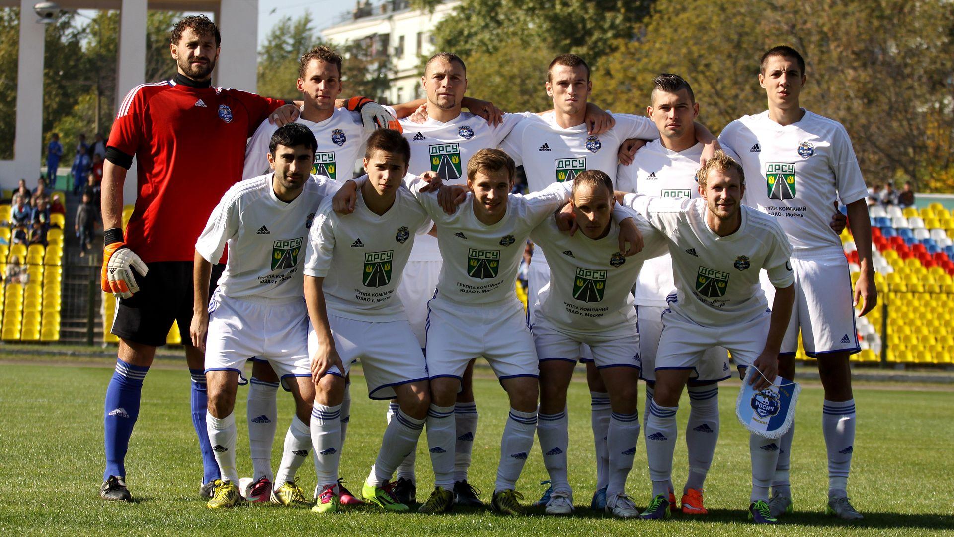 Футбольный клуб «Росич» одержал победу в двух последних турах Первенства России
