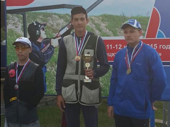 Спортсмен из Михайлово-Ярцевского победил на юниорском Чемпионате России по стрельбе
