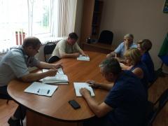 В Киевском прошло совещание с управляющими компаниями