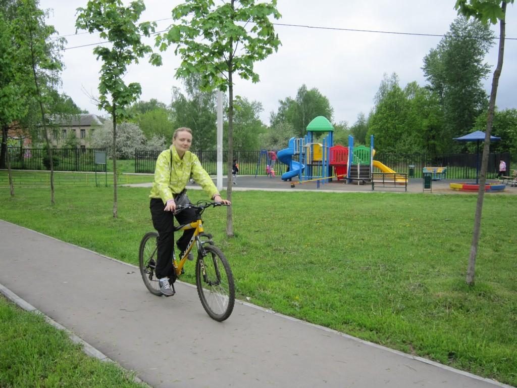 В поселении Кокошкино появятся велосипедные дорожки