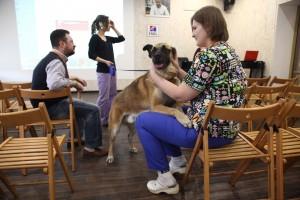 открытие школы волонтеров собачьего приюта на каширском
