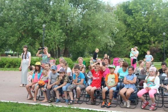 В поселении Краснопахорское День семьи отметили концертом
