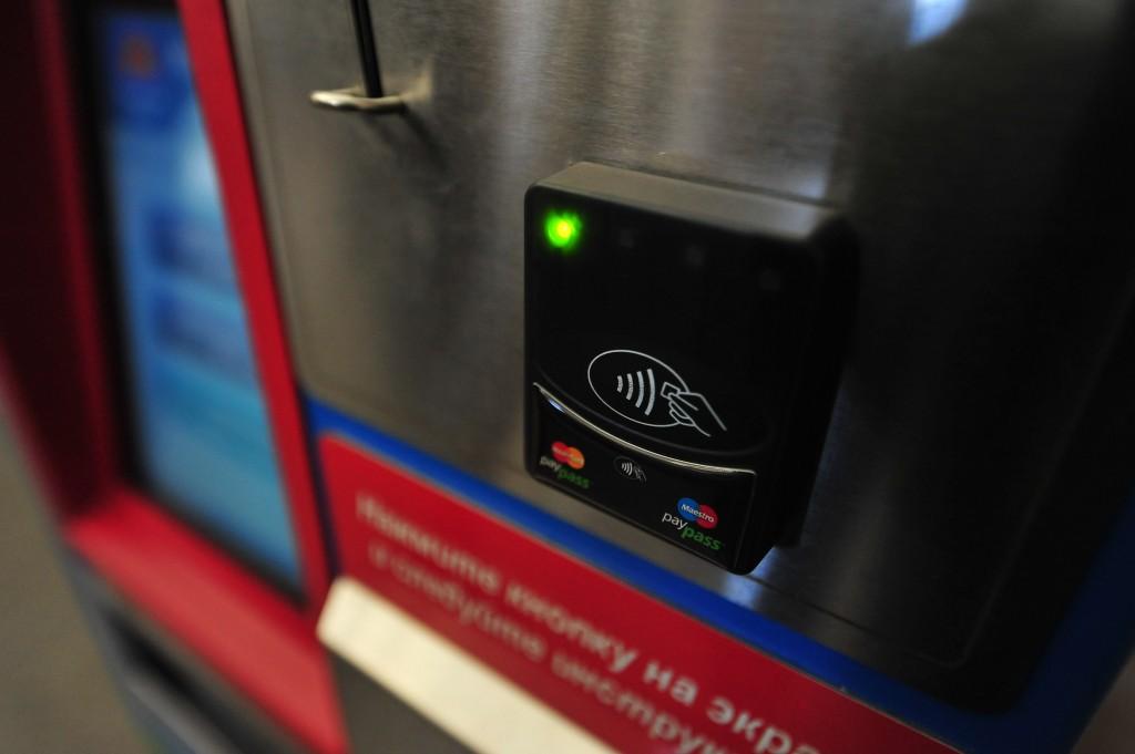 Проезд в столичном метро можно будет оплатить банковской картой