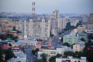 Виды Москвы с дома на Котельнической набережной