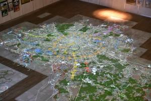 Интерактивная карта. Фото из архива пресс-службы Комплекса градостроительной политики и строительства Москвы
