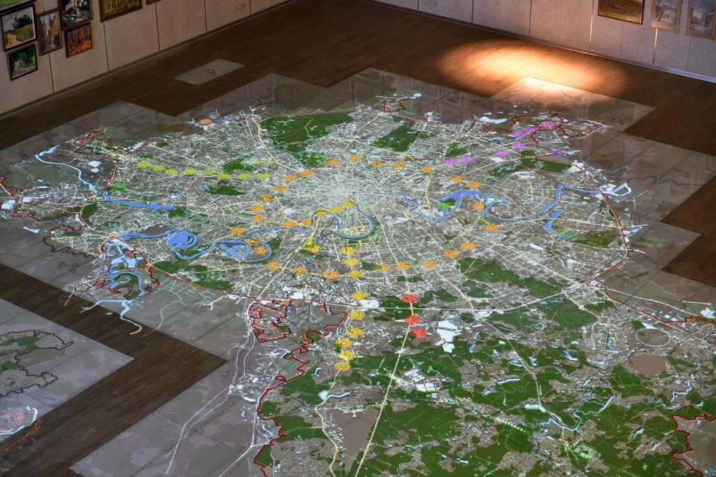 По интерактивной карте столицы можно будет пройти с экскурсией