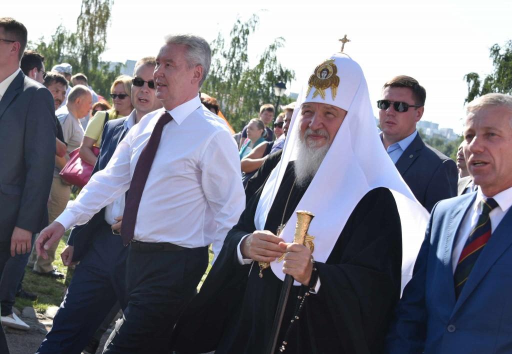 Собянин посетил фестиваль славянского искусства
