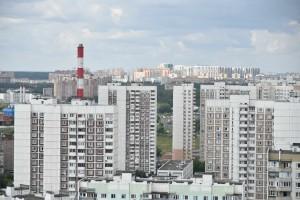 15  Июля 2015 Мэр Москвы Сергей Собянин осмотрел микрорайон 2 Митино