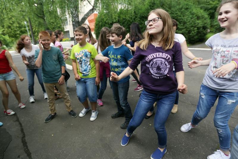 Дети поселения Щаповское вспомнили советские игры