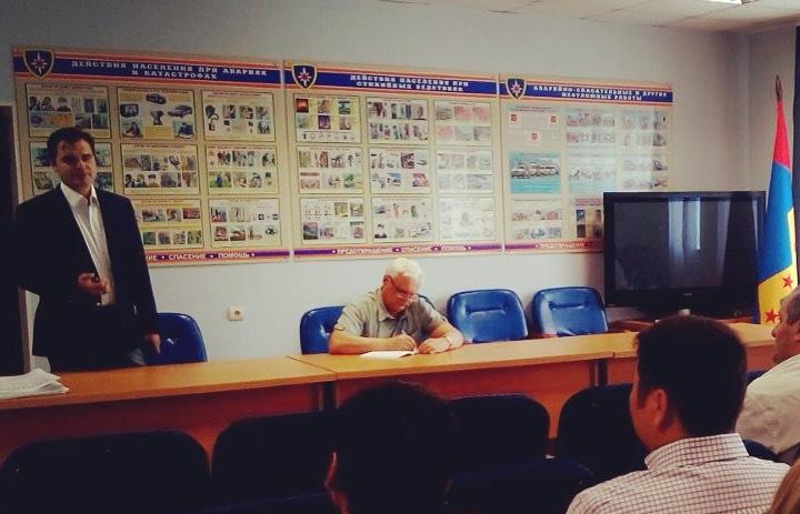 Руководитель Марушкинского встретился с местными предпринимателями