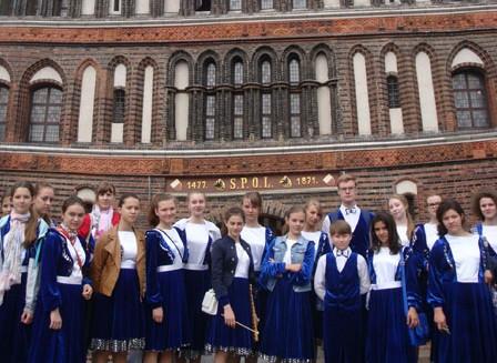 Детский хор из Московского принял участие в фестивале «Встречи на Эльбе»