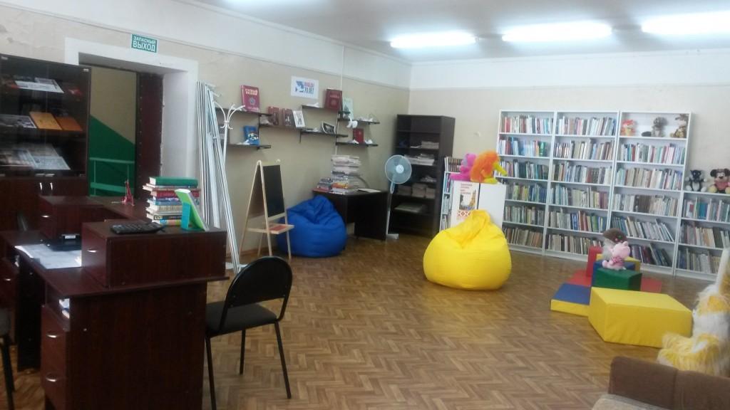 В Роговском дизайнеры обновили здание библиотеки