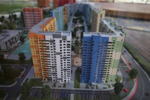 Мэр Москвы Сергей Собянин осмотрел строительство нового жилого квартала с инновационной школой и детским садом в районе Западное Дегунино