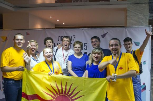 Члены Молодежной палаты Краснопахорского встретились с председателем Мосгордумы