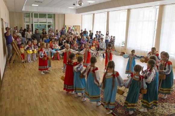 Акция «Семья помогает семье» завершилась концертом в Краснопахорском