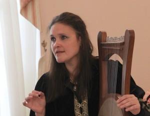 Музыкант Анна Тончева.