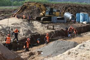 21 мая 2015 года. Сосенки. Реконструкция Калужского шоссе