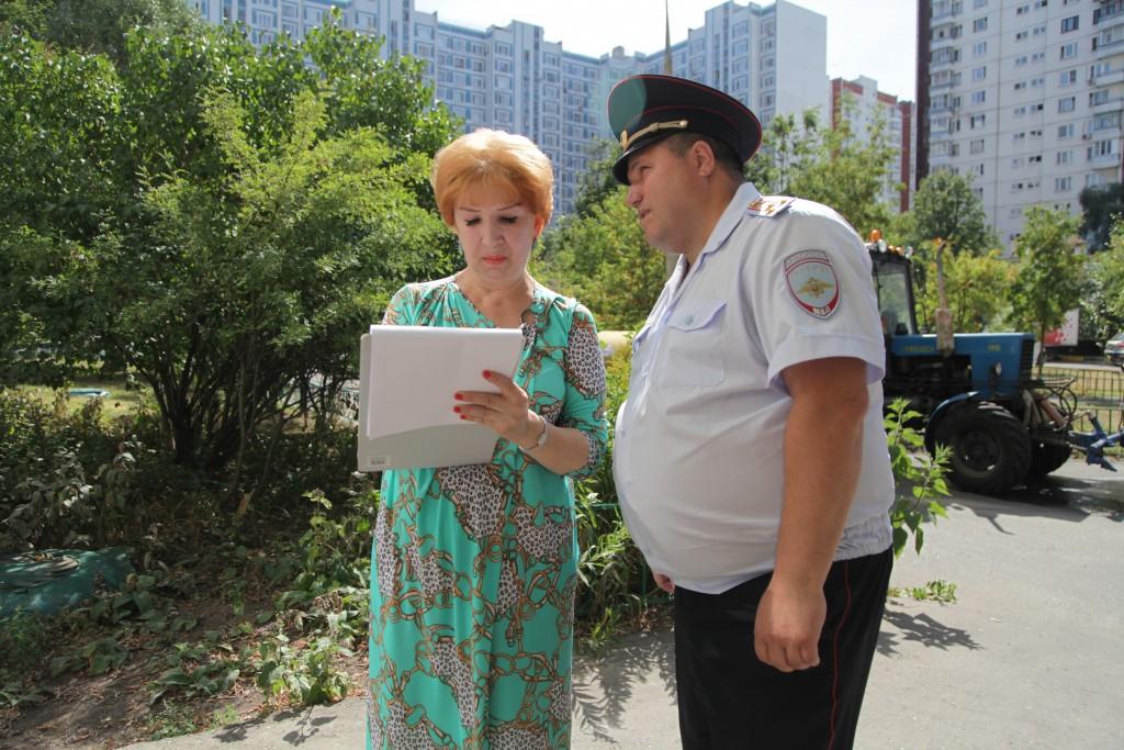 Участковые встретятся с жителями Новой Москвы