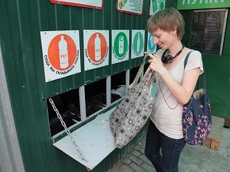 В столице началась акция по раздельному сбору отходов